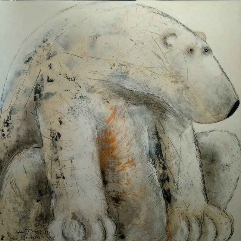 Remember white dream - 100 x 100 cm - 1 600 €