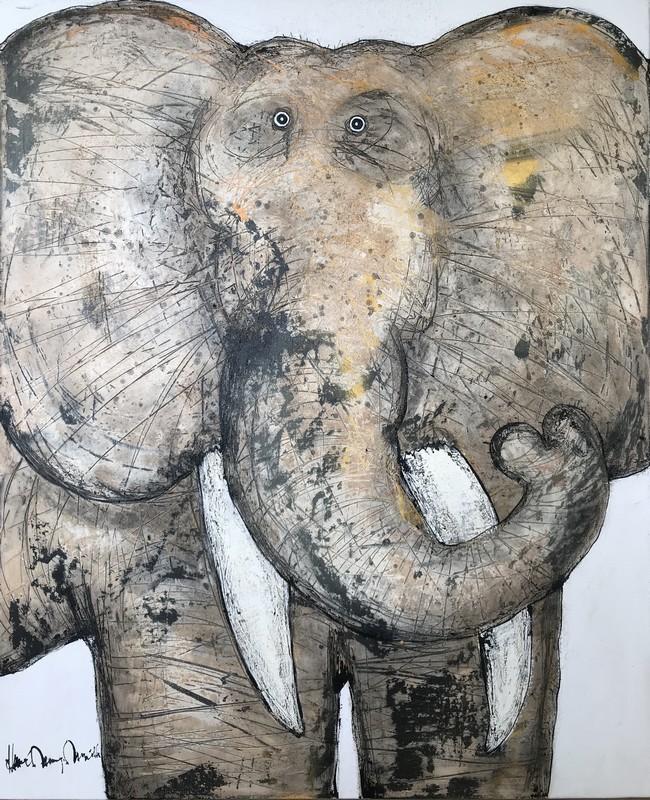 Eléphant - 81 x 100 cm - 1 400 €