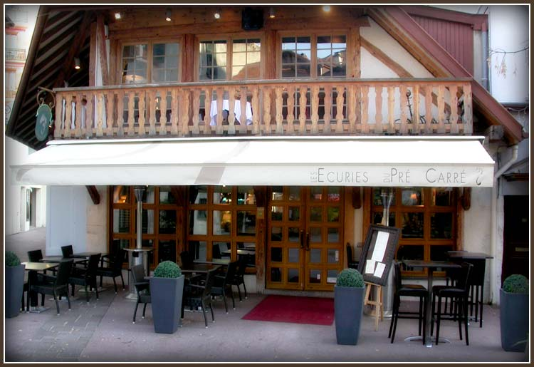 Les écuries Annecy