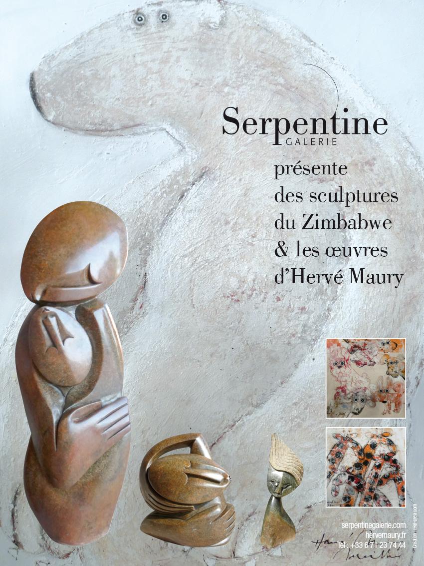 Affiche Hervé Maury Aix en Provence