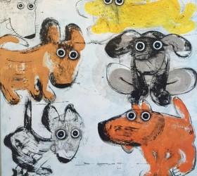 Hervé Maury - Gang de chiens 8