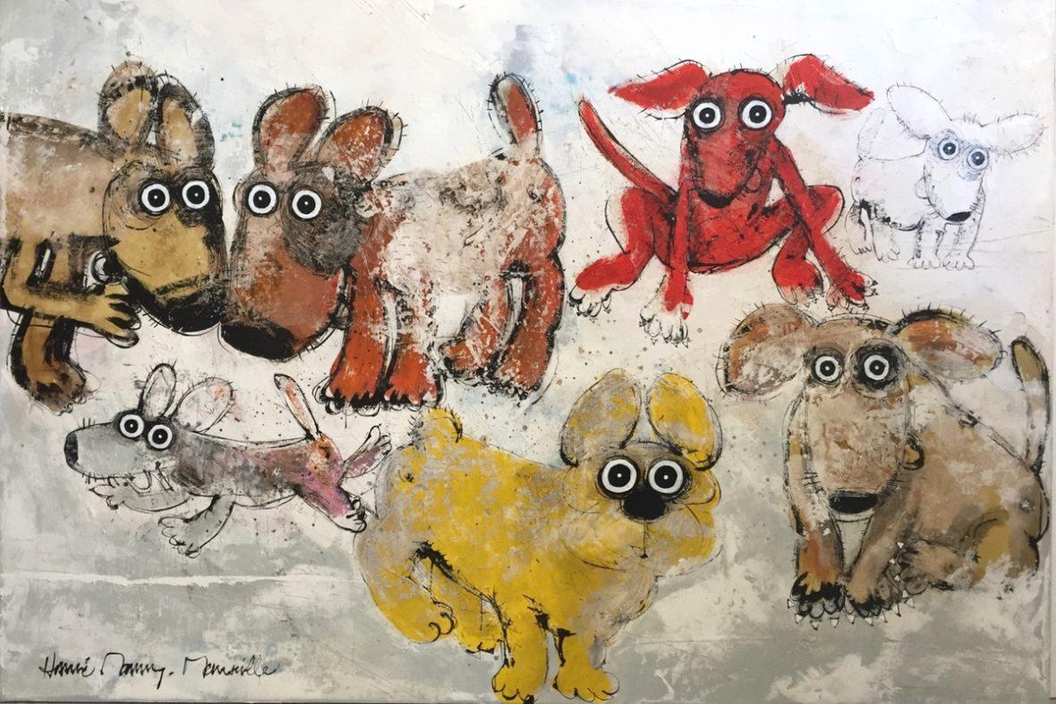 Gang de chiens