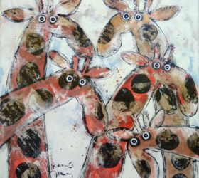 hervé maury - girafes