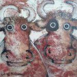 Deux taureaux