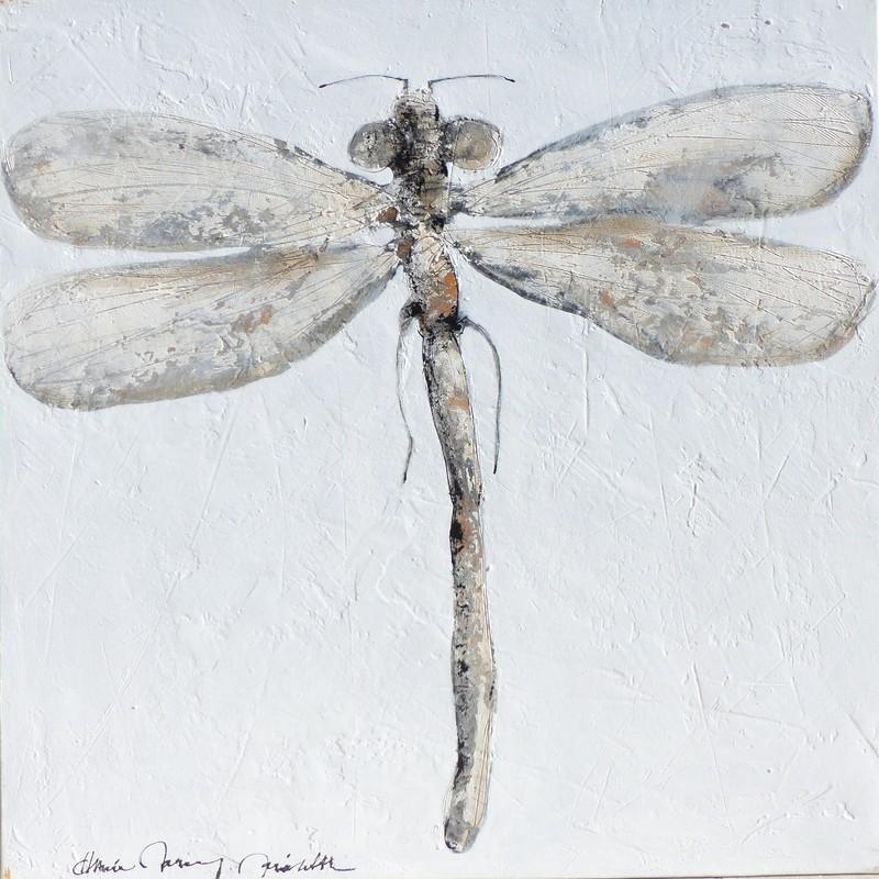 Libellule solo - 100 x 100 cm - 1 600 €