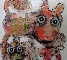 hervé maury - Deux chiens 2