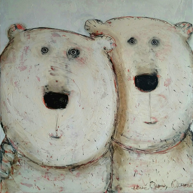 Friendly - 80 x 80 cm - 1 300 €