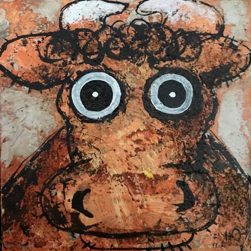 Vache - 20 x 20 cm - 160 €