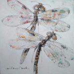 Couple libellules