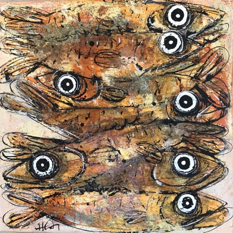Les sardines - 30 x 30 cm - 320 €