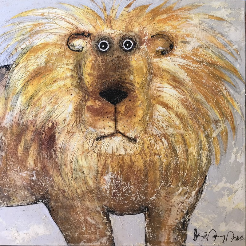 Lion - 80 x 80 cm - 1 300 €