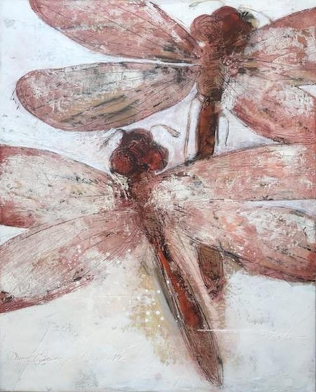 Libellules 2 - 81 x 100 cm - 1 500 €